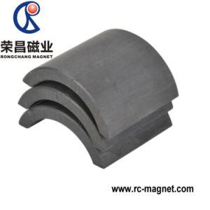 Y33 Magneet van het Ferriet van de Boog van de Steekproef van de Vorm van het Segment de Vrije Sterke Ceramische voor Motor