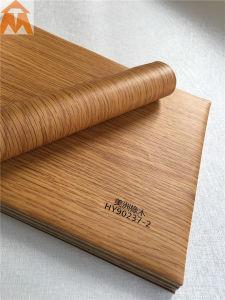 Деревянные зерна рельефным ПВХ пленки для внутренней декоративной панели