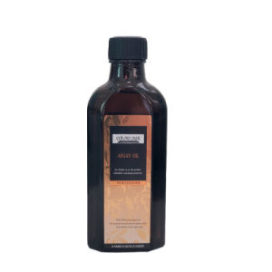 Het privé Organische KruidenHaar die van het Etiket Zuivere Essentiële Argan Olie bevochtigen