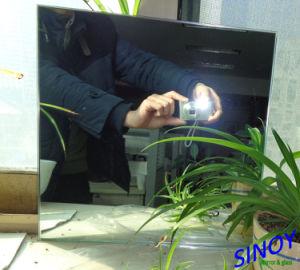 2 мм до 6 мм покрытие водонепроницаемым медных бесплатно и без содержания свинца ясно серебряным покрытием стекло наружного зеркала заднего вида с максимальный размер 2440 x 3660мм для ванной комнаты, крепление на стену, мебель