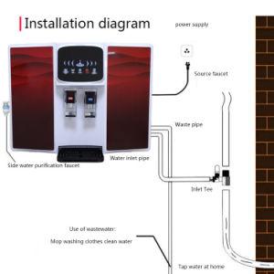 OEM 3 Outlets ósmosis inversa 5 etapas caliente y frío FABRICANTE del sistema de agua DE RO purificador de agua