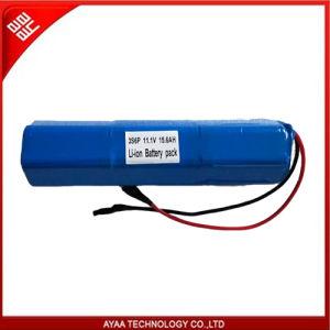 18650 pacchetto ricaricabile della batteria dello Li-ione di 11.1V 15.6ah per illuminazione