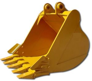 Terexの掘削機のためのバケツ