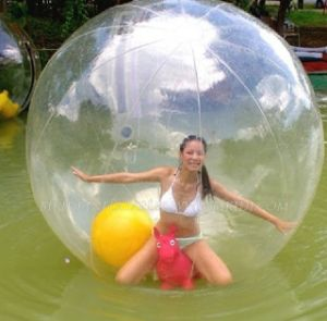 水Balls、Inflatable Water Walking Ball Sphere、Paypal著Aqua Zorb
