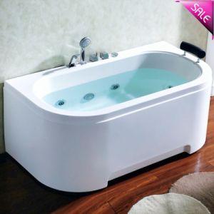 De hete Badkuip van de Massage van de Luxe van de Verkoop Binnen Kleine Hydro (SR5D007)