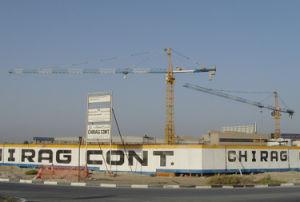 Qtz Serie 6t grúa torre China Alimentación con CE