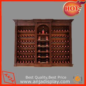 China-Fertigung-Melamin-kundenspezifische Wein-Verkaufsmöbel-Bildschirmanzeigen für Supermarkt