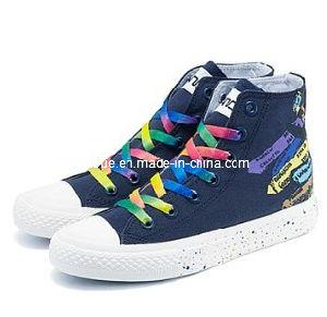 Sapatos de lona Superior Alta coloridos (WM2013CH06)
