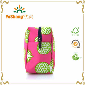 Mode de promotion de Voyage de maquillage personnalisé sacs cosmétiques, porter le sac des brosses