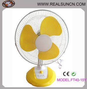 16inch Desk Fan (gelbes Color) Ft40-15y