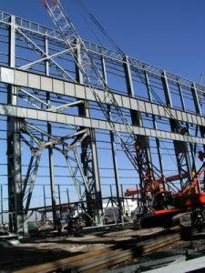 Estructura de acero para el sector industrial (han exportado 200000toneladas)