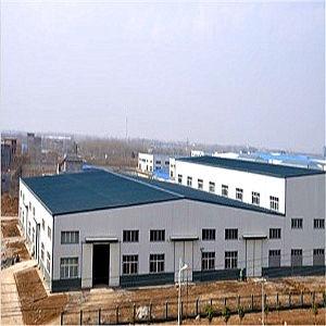 Gruppo di lavoro/magazzino chiari della costruzione della struttura d'acciaio
