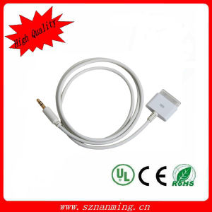 3.5mm к 30pin Audio Cable для iPhone4