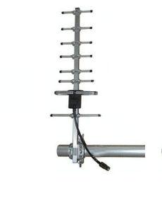 Antenna del Yagi con 890-960/1710-1990MHz ed il materiale della lega di alluminio, cavo con poche perdite