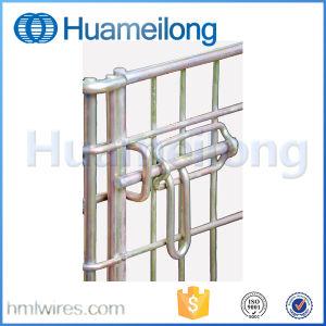 Metallo che piega impilando la gabbia di memoria per il magazzino