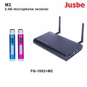 M2 Receptores Mic e o transmissor para sistemas de microfone sem fios