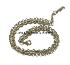 Ручная работа латунь шаровой цепи/валик цепи браслет с округлыми звено цепи
