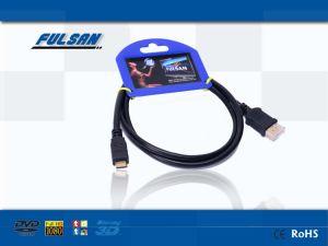 タブレットのための高速小型HDMIケーブルaからC