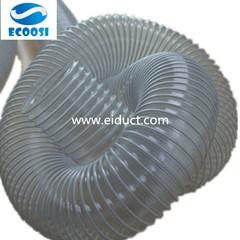 Tubo flessibile libero del condotto di ventilazione del PVC