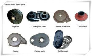 Alta abrasivos Chrome Chorume as peças da bomba da bomba de Mineração