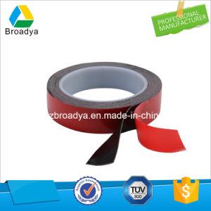 Vínculo muito elevado de espuma acrílica preta/Fita adesiva do VHB (Filme Vermelho/POR5040B)