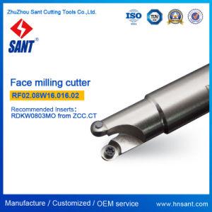 CNC Face Indexable Fraise appariés inserts métalliques
