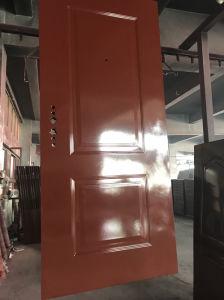 Modello d'acciaio classico di disegno del portello del metallo