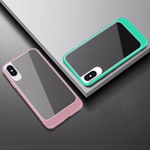 2 in 1 cassa Shockproof libera acrilica di lusso del telefono mobile per il iPhone X
