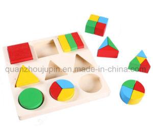 Custom filhos crianças bebé brinquedos educativos de quebra-cabeças de madeira