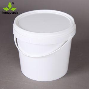 4 Litro personalizado balde de iogurte de plástico de Qualidade Alimentar