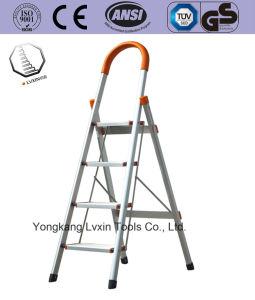 Высокое качество тип лестницы/двойной стороны алюминиевого сплава Складная лестница