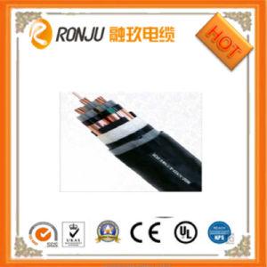Cavo e fune ignifugi dell'isolamento del PVC del conduttore della lega di alluminio di tensione del cavo 600 di Al