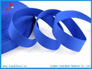 주식에 있는 파란 나일론 가죽 끈 제조자 부대 결박