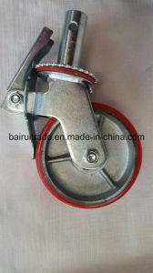 Тележка колесо колесо из твердого каучука для Китая самоустанавливающегося колеса для тяжелого режима работы