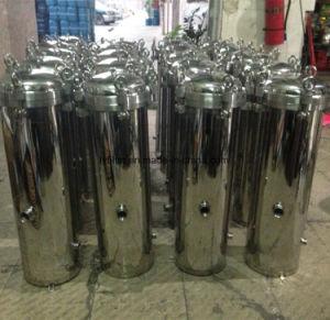 Van het Micro- van de Filter Housing/5 van de Patroon van het Roestvrij staal SS316 SS304 de MultiHuisvesting van de Filter Water van de Patroon