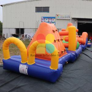 Obstaculo De Agua Inflable Trabajo De Costura Juego Inflable Parque