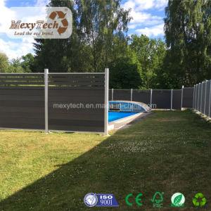 庭の木製ポリマー合成のプライバシーの塀(1.8メートルX1.8のメートル)