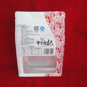 FDA Food Grade Sacs debout un emballage transparent avec fermeture à glissière