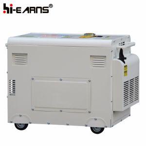 Vérin unique de type silencieux Air-Cooled Groupe électrogène Diesel (DG5500SE3)