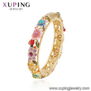 a06a088f46a2 Regalo del día de la madre joyas moda joyas pulseras chapado en oro  esmaltado