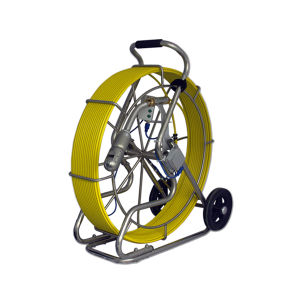 360 grados de rotación del tubo de alcantarillado de imagen HD Inpection Cámara con 60m / 150m de cable rígido