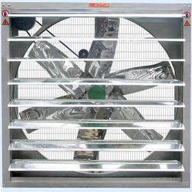 De centrifugaal Ventilator van de Uitlaat van het Type van Blind voor het Landbouwbedrijf van het Gevogelte