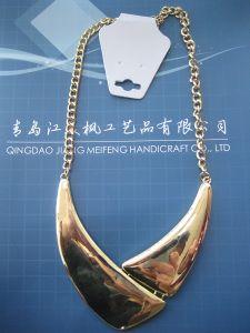 Fabrik-Großverkäufe! Entwerfer-Schmucksache-heiße verkaufende elegante Metallanhänger-Halskette 2014