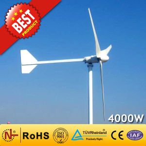 Turbina Eólica/Gerador de Energia Eólica (4KW)