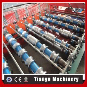 Trapèze feuille métallique du panneau de toit de tuiles machine à profiler 1000