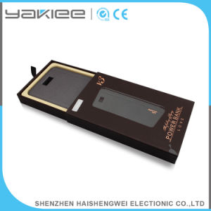 Alta capacidad de 8000mAh cargador de móvil Banco de potencia