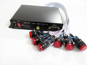 Optical&HDMI 산출 RS232 통제 가득 차있는 HD 미디어 플레이어
