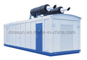 冷却される経済的な無声ディーゼル発電機の冷却される空気か水