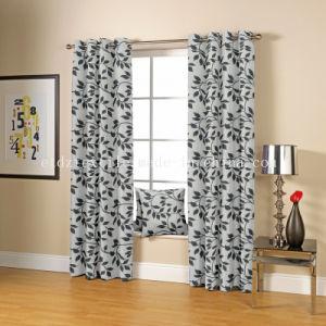 Tela popular da cortina do jacquard da classe elevada