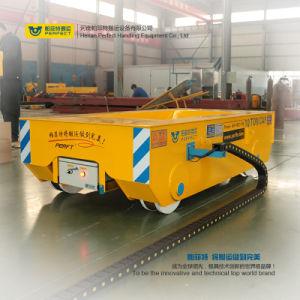 Trasferimento di carico del piano di ferrovia del carrello ferroviario di maneggio del materiale 300